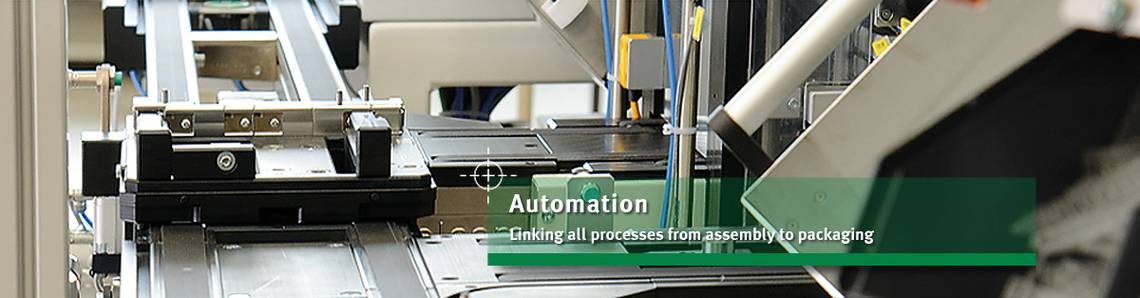 Automated assembly processes for production facilities